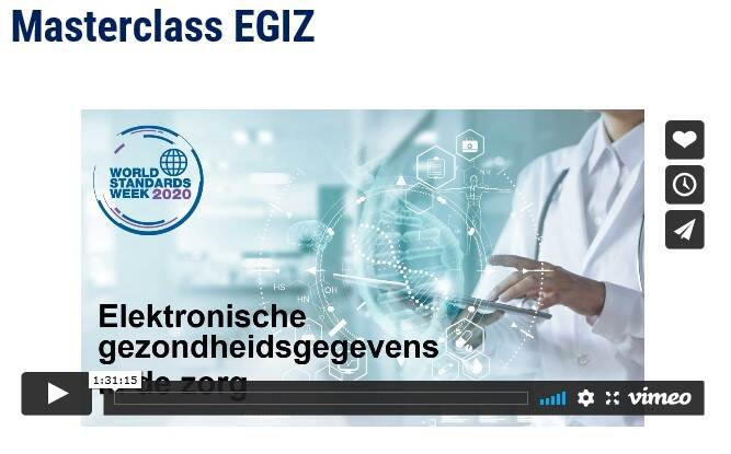 Schermafbeelding van de video over de Masterclass EGIZ